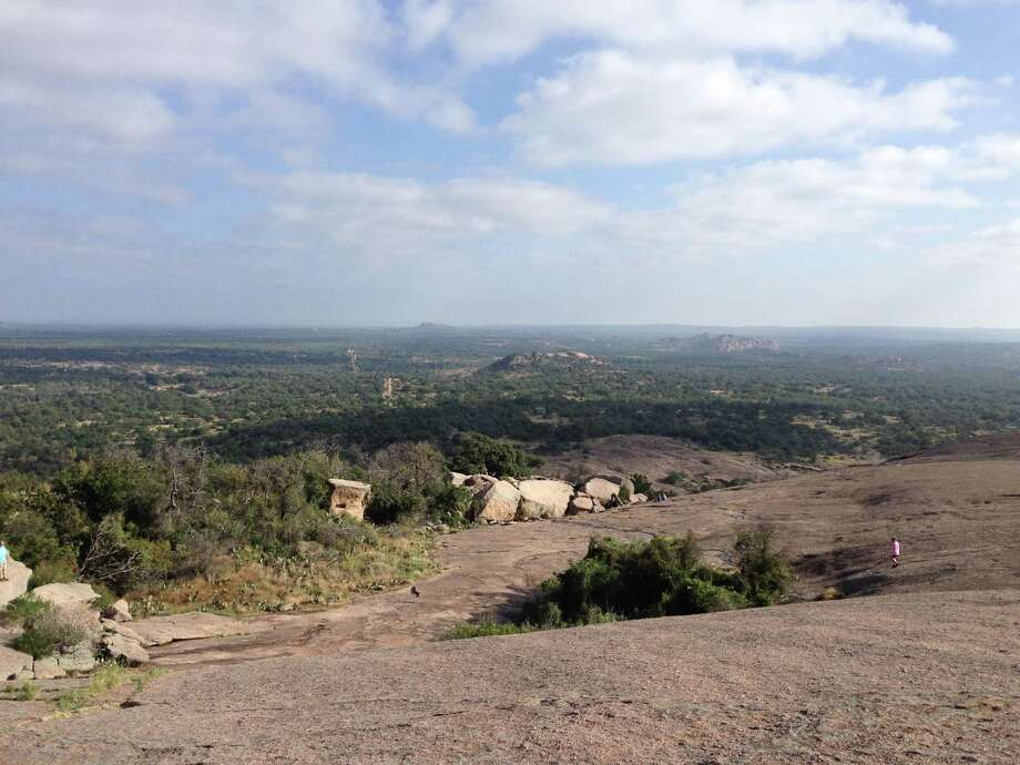 Enchanted Rock State Natural Area is a popular Hill Country destination, north of Fredericksburg. Click ahead to view 13 interesting facts about Enchanted Rock, the Hill Country's 'spectacular granite.' Photo: Dale Blasingame / For The Express-News