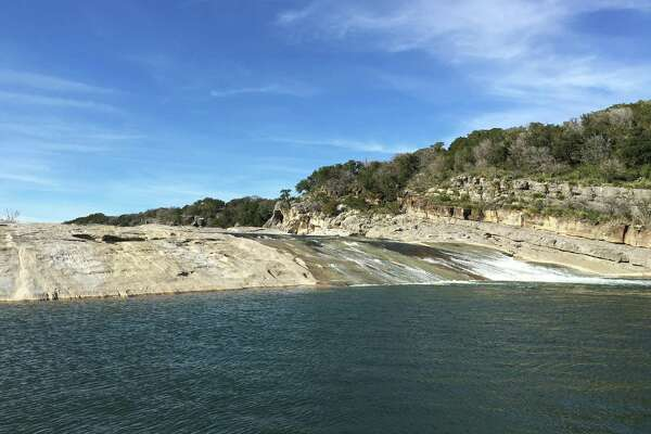 Pedernales State Park has huge slabs of limestone and trails that range from easy to challenging.