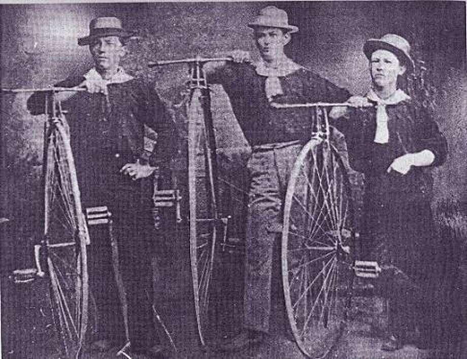 High wheelers in San Antonio. Photo: Courtesy Texas Transportation Museum