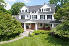 """""""Fairhaven,"""" at 209 West Lane in Ridgefield, Conn. was built in 1910 and was the home of Geraldine Farrar, an opera singer and film actress. She had a large following among young women in the early 1900s, who were dubbed """"Gerry-flappers."""""""