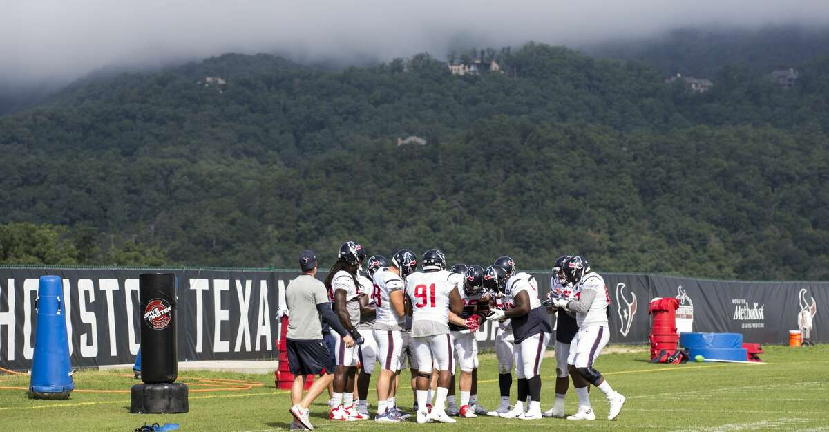 PHOTOS: A position-by-position look at the Texans after training camp in West Virginia. Browse through the photos for a breakdown of where the Texans stand.