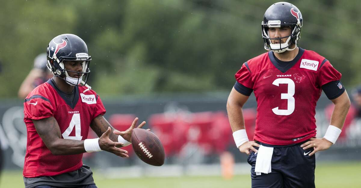 QUARTERBACKS Tom Savage did everything he was supposed to do, but Deshaun Watson is pressuring him for the starting job. Savage needs to play well in the next two preseason games to hold off the charge Watson is making. Watson, who also must play well in the next two games, consistently improved after camp began. He was terrific at Carolina and closed camp with a flourish. How well Savage and Watson do in the next two preseason games should determine who starts the Sept. 10 opener against Jacksonville.