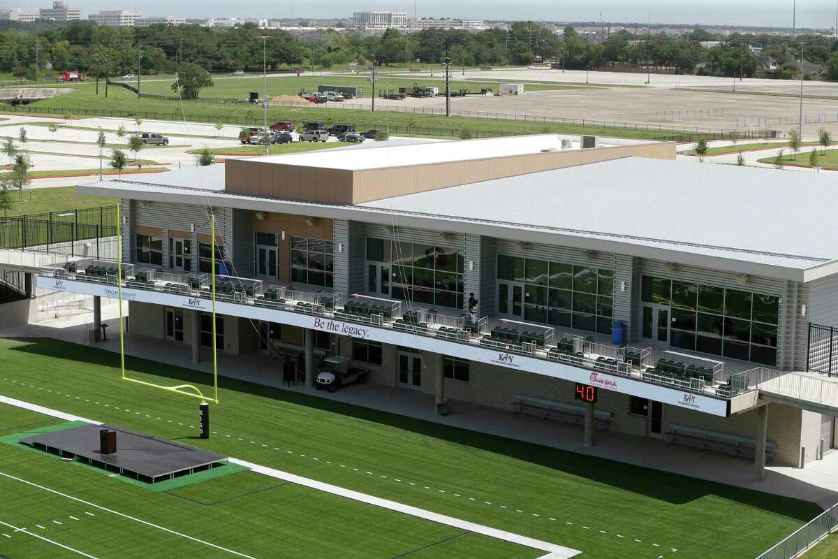 The field house at Katy ISD Legacy Stadium, 5070 Franz Rd., is shown Thursday, Aug. 17, 2017, in Katy.