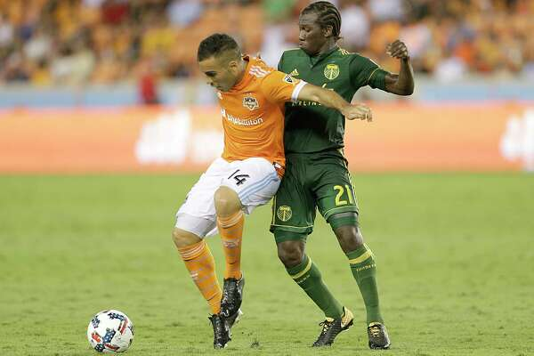 Alex, left, will return to a Dynamo team that has improved its depth in the midfield with the addition of Tomás Martinez.