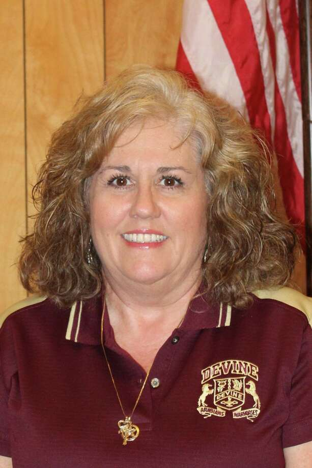 Gina Champion was named interim county clerk in Medina County on Monday, Aug. 14, 2017, replacing Lisa Wernette, who resigned for health reasons. Champion has previously served on the Devine ISD school board and on the Devine City Council. Photo: Zeke MacCormack / San Antonio Express-News