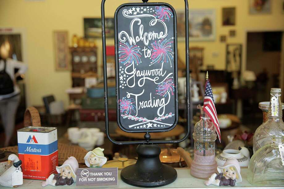Jaywood Trading, took it's name from the Jaybirds, photographed in downtown Richmond, Texas, on Wednesday, Aug. 16, 2017. Photo: Elizabeth Conley, Houston Chronicle / © 2017 Houston Chronicle