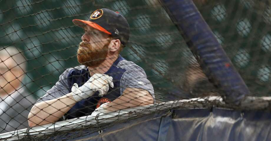 Third baseman Colin Moran may return from his ghastly injury and play for the Astros in September.PHOTOS: Check out how the Astros have fared through each game this season. Photo: Karen Warren/Houston Chronicle