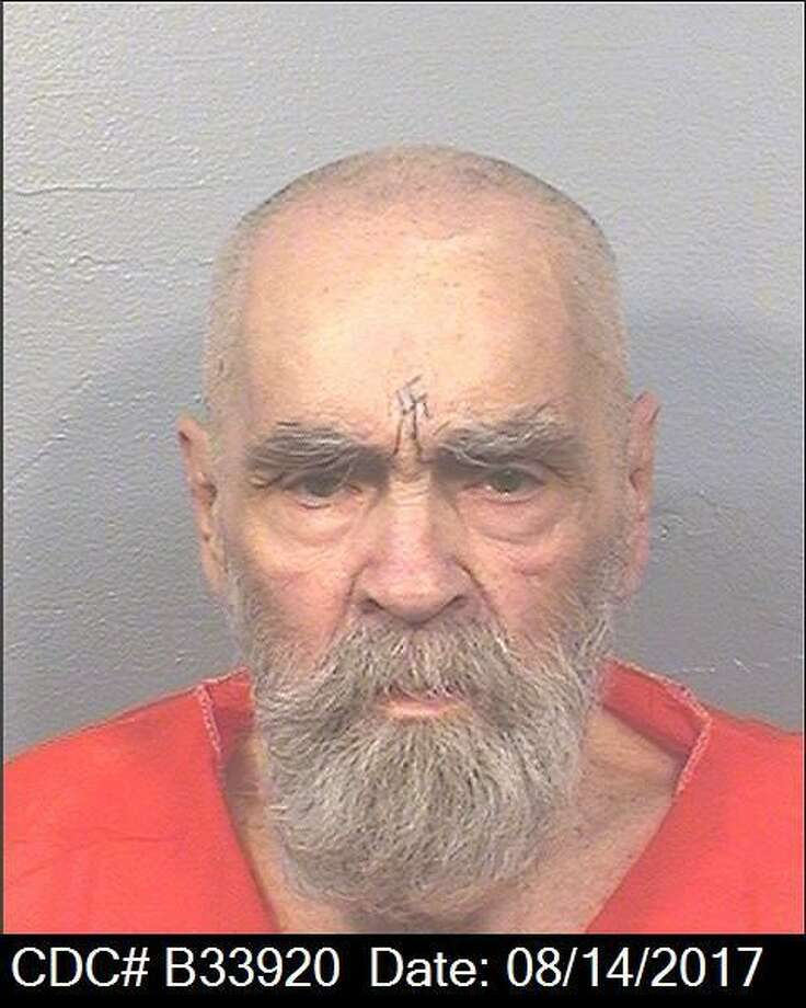 Charles Manson's newest mugshot, taken at Corcoran State on Monday, Aug. 14, 2017. Photo: California Department Of Corrections And Rehabilitation
