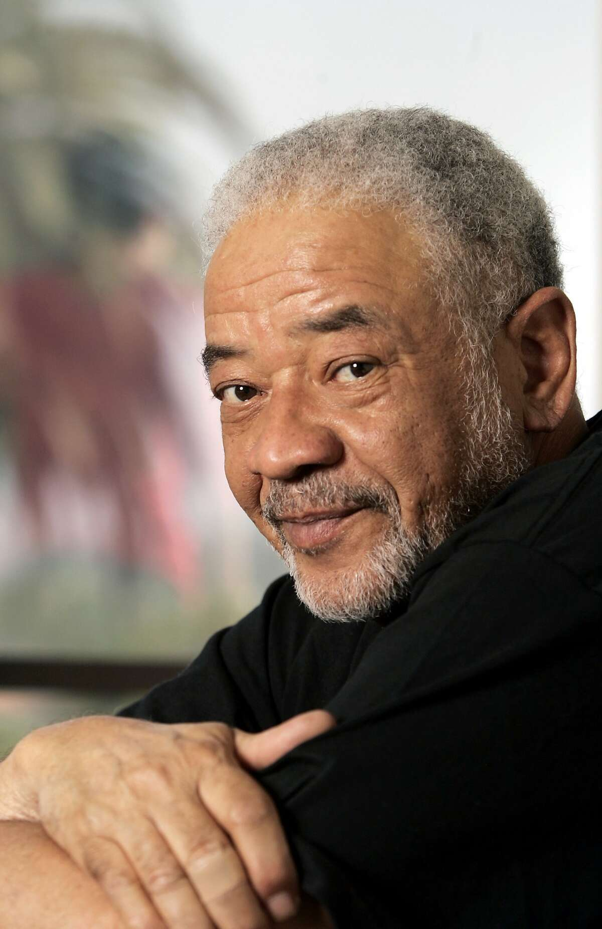 Bill Withers poses in his office in Beverly Hills, Calif., Wednesday, June 21, 2006. The 67-year-old singer-songwriter will be honored by the American Society of Composers, Authors and Publishers Monday for his musical contributions. (AP Photo/Reed Saxon)