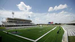Legacy Stadium, which joins Rhodes Stadium as the host venues of Katy ISD's schools, was gleaming ahead of its dedication ceremony Thursday. Katy Taylor will host Foster in the stadium's first game Aug. 31.