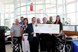 UISD announced the third annual Golf Tournament FORE Our Students this week. On hand were UISD athletic director Bobby Cruz, UISD Elementary School Teacher of the Year Miguel Angel Chavez, assistant superintendent for administration Gloria Rendon, Powell Watson co-owner Jonathan Watson, UISD Trustee Juan Roberto Ramirez, Powell Watson co-owner Michael Powell, UISD Superintendent of Schools Roberto J. Santos and UISD Secondary School Teacher of the Year Andrea J. Garza.