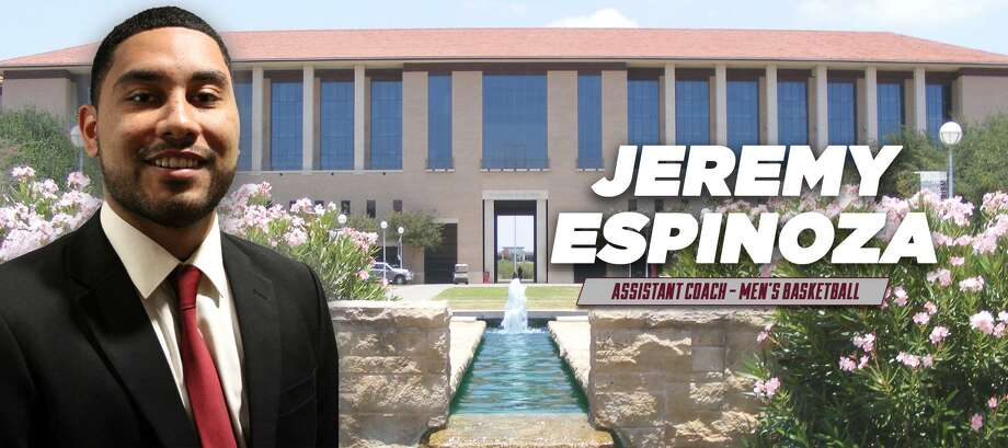The TAMIU basketball team hired Jeremy Espinoza, a Newman alumnus, as its next assistant coach. Photo: Courtesy Photo