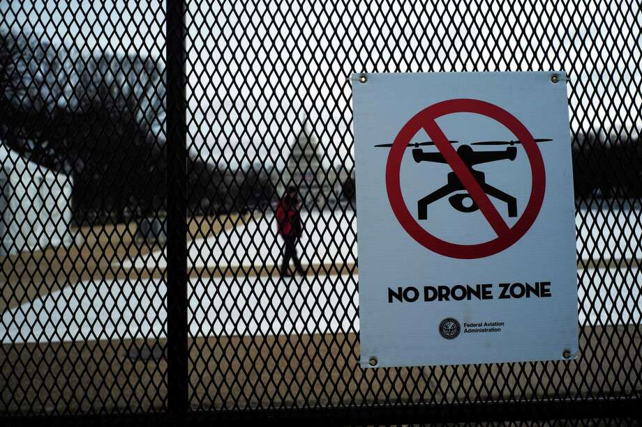 Airports are concerned about drone incursions, though they are still figuring out how to combat the problem. Photo: JEWEL SAMAD / AFP/Getty Images / This content is subject to copyright.