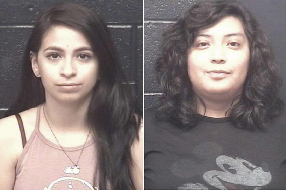 Samantha Alexa Caudillo, 19, and Angee Ayala, 19, were charged with possession of marijuana.