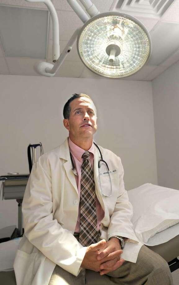 Dr. Jeffrey I. Gorelick, with Urology Associates of Danbury, photographed Friday, June 18, 2010. Photo: Carol Kaliff / The News-Times