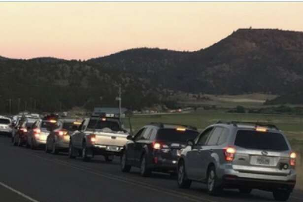 Photos, stories and reports posted on Twitter reveal an eclipse traffic nightmare in Central and Eastern Oregon.