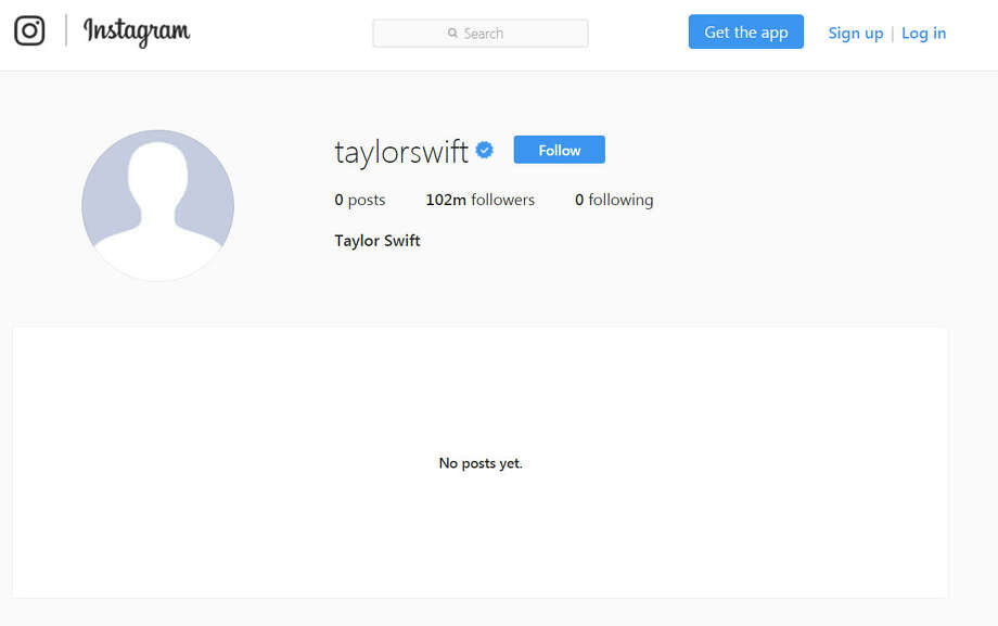 Is Taylor Swift clearing out her social media presence for a new album? Photo: Reddit/Instagram