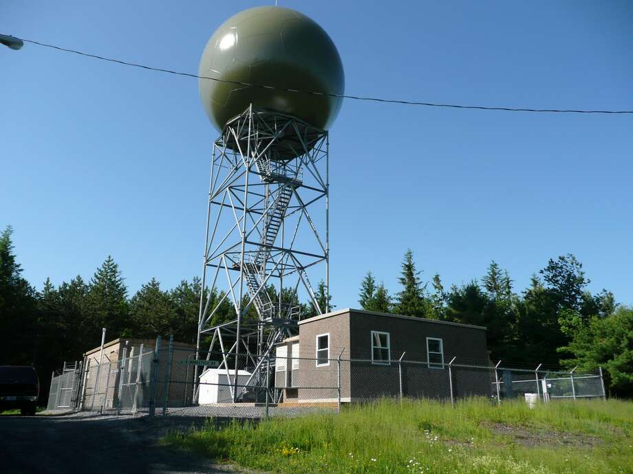 The National Weather Service's Doppler radar in East Berne failed Thursday. Repairs will likely take until next week. Photo: National Weather Service