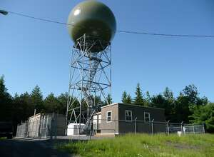 The National Weather Service's Doppler radar in East Berne failed Thursday. Repairs will likely take until next week.