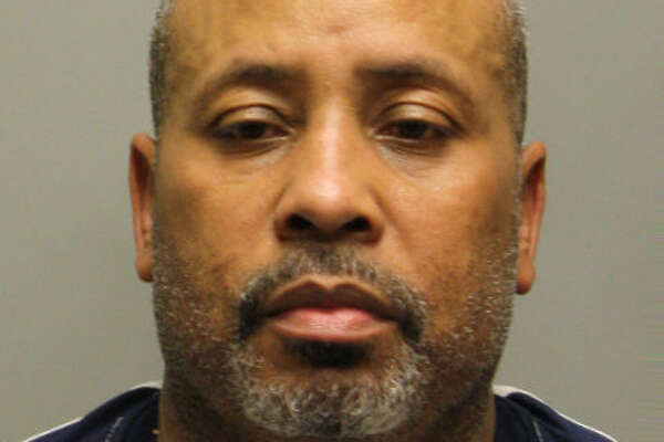 Darin Thomas was arrested by the Harris County Sheriff's Office and charged with prostitution as part of a month-long sex sting operation conducted by the Harris County Sheriff's Office and the Houston Police Department.