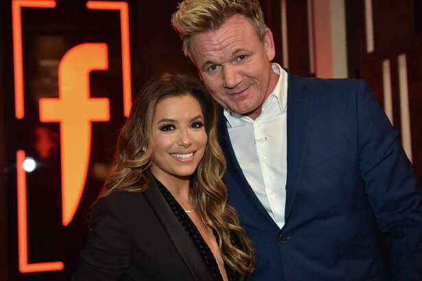 "Gordon Ramsay welcomed his special guest, ""Desperate Housewives"" actress Eva Longoria, on the finale of his Fox show ""The F Word"" this week."
