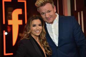 """Gordon Ramsay welcomed his special guest, """"Desperate Housewives"""" actress Eva Longoria, on the finale of his Fox show """"The F Word"""" this week."""