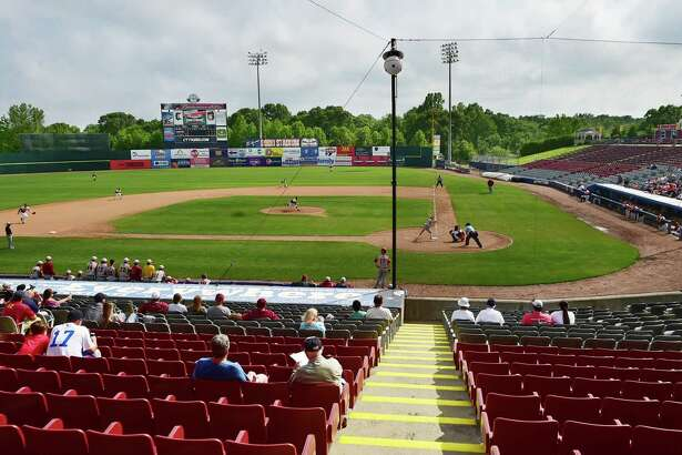 The Sheehan Titans defeated the East Catholic Eagles, 3-1 , in the CIAC 2015 State Baseball Tournament Class M Semifinals, Tuesday, June 9, at Dodd Stadium in Norwich. (Catherine Avalone/New Haven Register)
