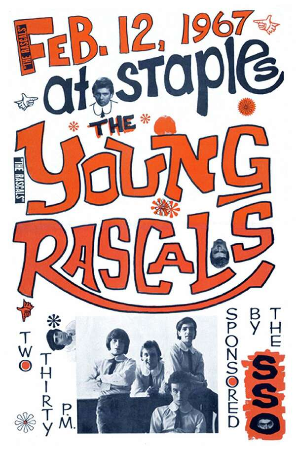 "By the time the Young Rascals came to play at Staples High School in Westport, five of its singles had hit the top of Billboard's charts. The band is among those featured in the documentary, ""The High School that Rocked!"" Photo: Fred Cantor / Contributed Photo / Connecticut Post contributed"