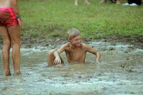 Mud Bath event at this year's Cheeseburger in Caseville.