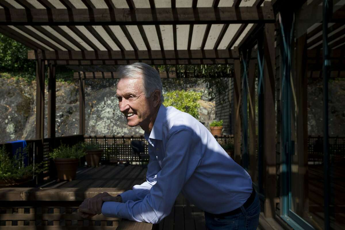 Warren Webber at his home on Thursday, Aug. 17, 2017, in Kentfield, Calif. Webber sold the oldest organic farm in California to the University of San Francisco.