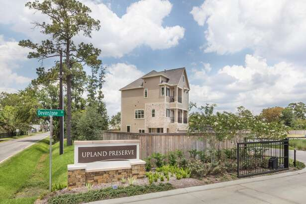Upland Preserve, one of Lennar's new in-town townhome communities, is located at 1410 Upland Drive near Britmoore in Spring Branch.