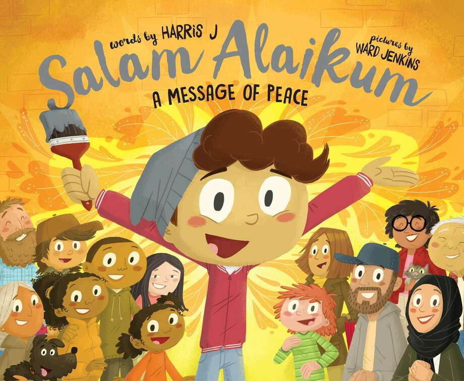 CHILDREN'S BOOK: SALAM ALAIKUM: A Message of Peace is written by Harris J, a young British Muslim artist and international music sensation who NPR deemed 3the Muslim Justin Bieber.  The book celebrates spreading peace, love, and happiness throughout the world, using the lyrics of his international YouTube hit (58MM views) of the same name. it publishes Sept. 5. Simon & Schuster, Photo: Simon & Schuster