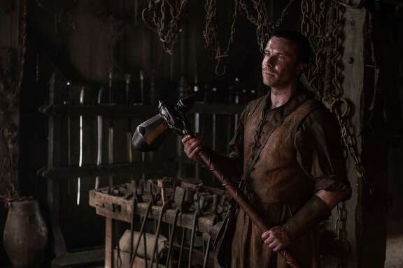 "Gendry (Joe Dempsie) has finally rowed his way back into the action in ""Game of Thrones."""