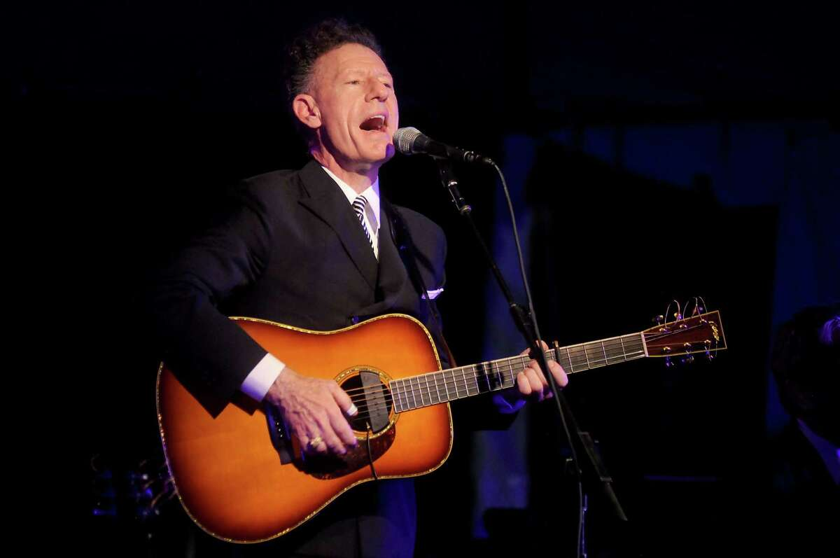 He may be a country singer from Texas, but Lyle Lovett doesn't fit into the country-music box any more than his trademark pompadour would have fit under a cowboy hat. He's been a folk singer from the get-go, a big-band vocalist whether that band's playing Western swing, jazz or blues and a singer-songwriter in both Townes Van Zandt and Jackson Browne modes. Lovett released a new greatest hits collection in May, but his catalog is so deep, he only played a few of them at a recent show -
