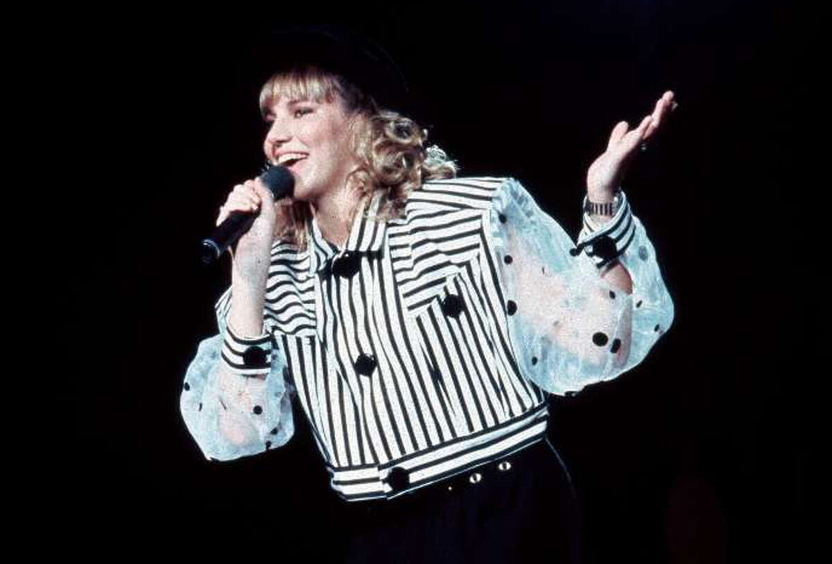 Debbie Gibson filmed the video for 'Staying Together' at AstroWorld in Houston.