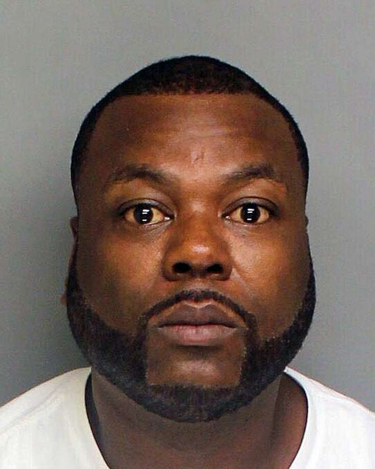 Clark Thomas, 48, who has a residence in Bridgeport and a residence in Shelton, was charged with possession of narcotics with intent to sell, possession of marijuana with intent to sell, operating a drug factor and criminal possession of body armor, Bridgeport police said. Photo: Contributed Photo / Bridgeport Police Department / Contributed Photo / Connecticut Post Contributed