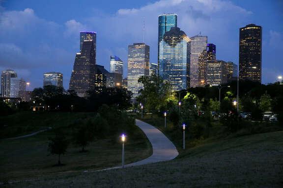 El downtown de Houston. (Archivo)