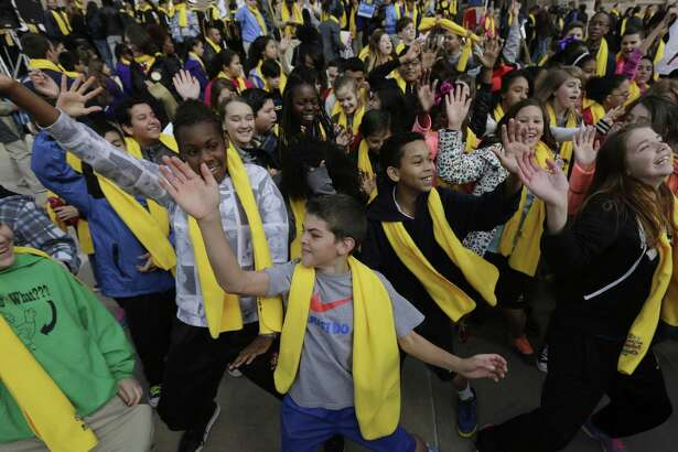 Students in 2015 support school choice in Austin. It shouldn't matter where a new idea comes from. If it's helping students, let's learn from it.