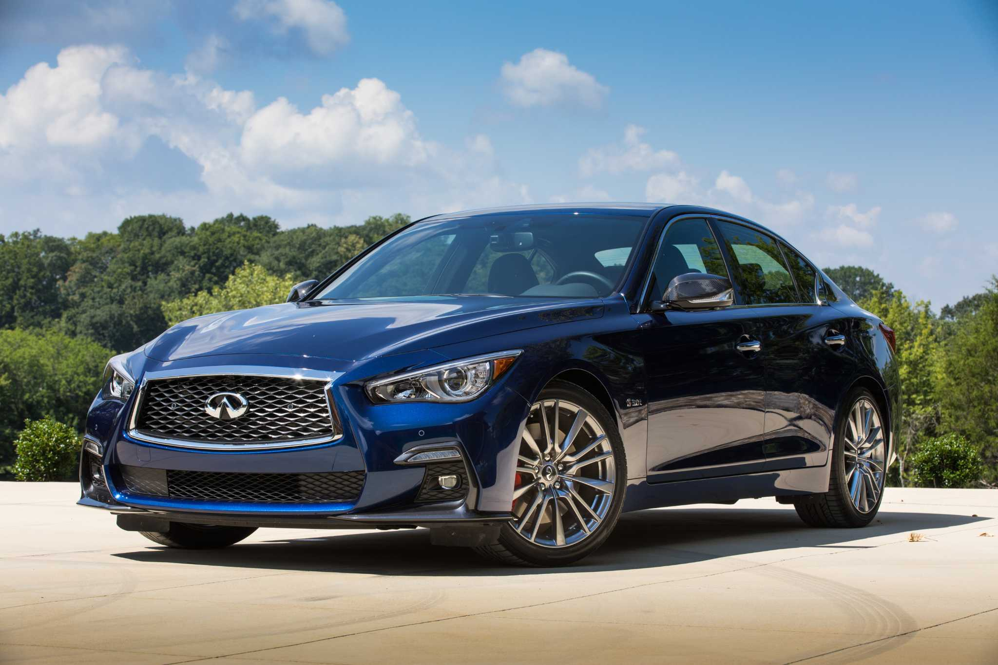 Infiniti's best-seller, the Q50 sedan, refined for 2018