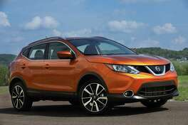 The Nissan Rogue Sport joins the lineup for 2017, offering a smaller, five-passenger, two-row compact crossover to complement the larger seven-passenger Rogue. It's 12.1 inches shorter than the regular Rogue, and has a smaller engine.