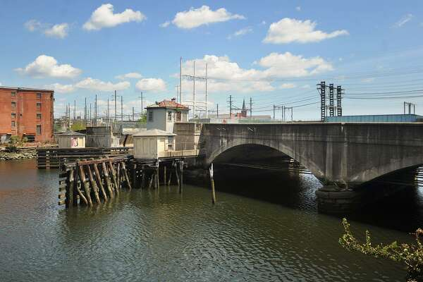 The long-closed Congress Street Bridge in Bridgeport, Conn. on Wednesday, August 16, 2017. The Bridgeport City Council recently agreed to spend money to replace the bridge.