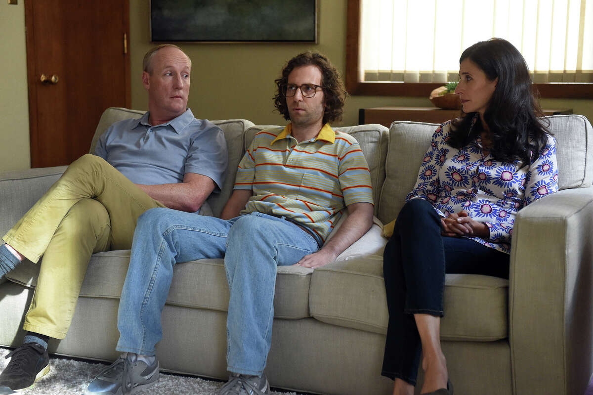 """From left, Matt Walsh, Kyle Mooney and Michaela Watkins in """"Brigsby Bear."""" Watkins is set to star with Owen Wilson in """"Paint,"""" which will be shot in Saratoga Springs. (Sony Pictures Classics)"""
