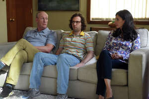 "L-r) Matt Walsh, Kyle Mooney and Michaela Watkins in ""Brigsby Bear."" MUST CREDIT: Sony Pictures Classics"