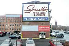 The Smoothie Building in New Haven.
