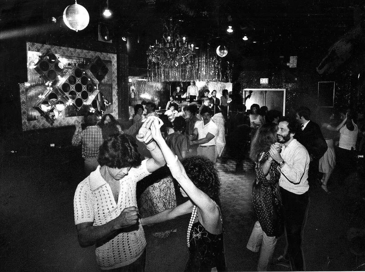 June 8, 1981: Dancers at the Club Elegante, a disco-friendly Bay Area venue in the early 1980s.
