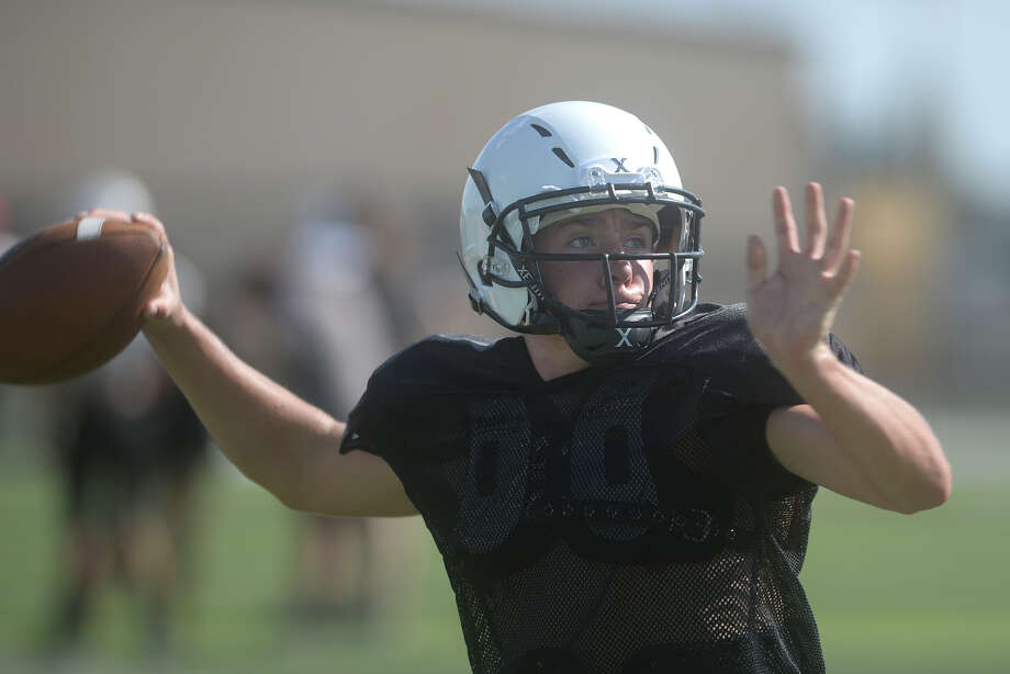 Forsan's Bryce Hergert during practice August 16, 2017 James Durbin/Reporter-Telegram Photo: James Durbin