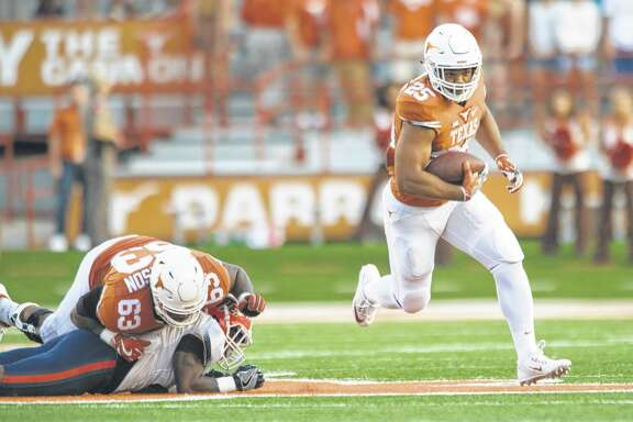 Running back Chris Warren has a shot at earning the starting job at UT, but that largely depends on the health of himself as well as Kyle Porter.