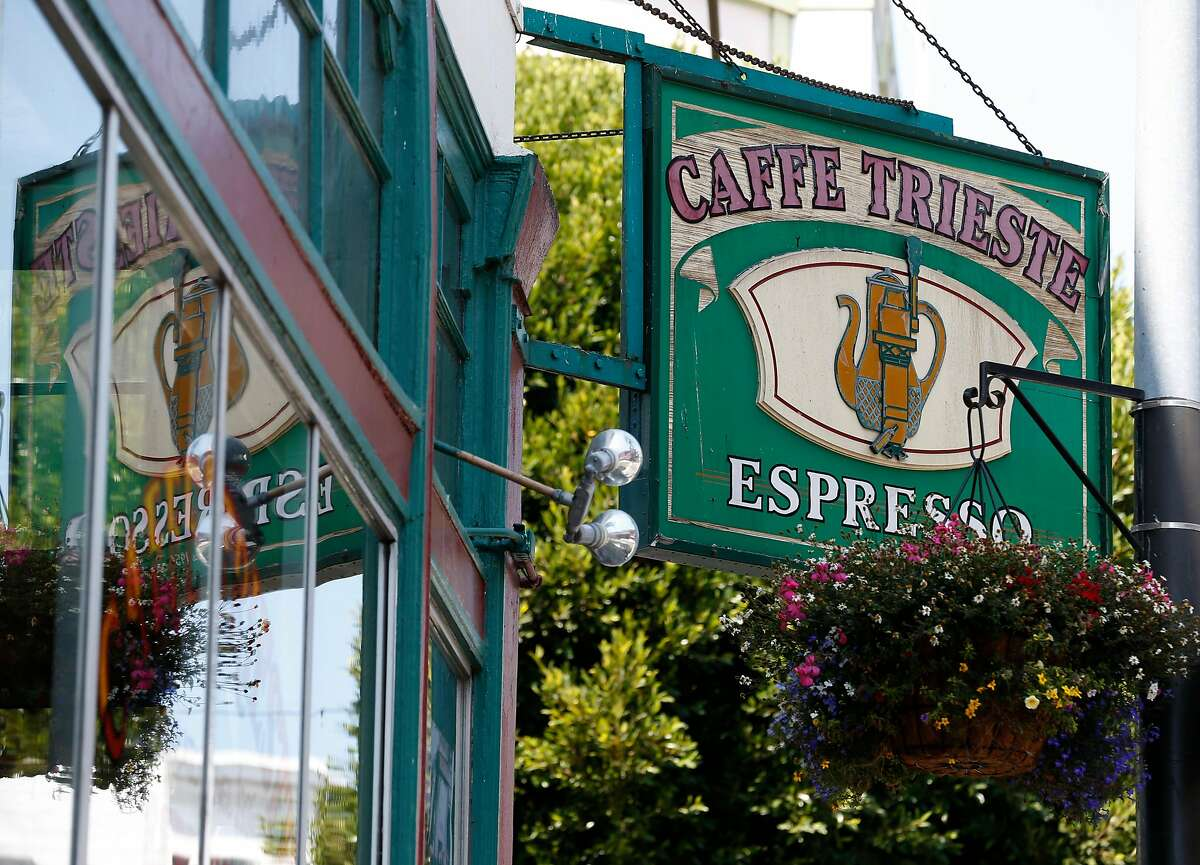 Caffe Trieste is located at Vallejo Street and Grant Avenue in San Francisco, Calif. on Thursday, Aug. 17, 2017.