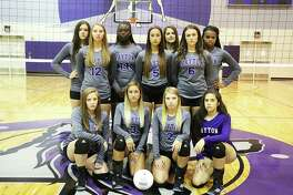 The 2017 Dayton Lady Broncos are ready to make waves this year in district. Front row, from left, Rhiannon Clifton, Hannah Green, Emilee Peters, and Belinda Torres. Second row, Hannah Waller, Abby Jane Howeth, and Calie Thornton, Third row, Skyler Wagner, Sydnee Hebert, Taylor Ellis, and Richayla Young.