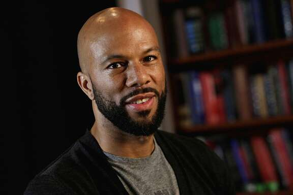 This Nov. 4, 2011 file photo shows rapper Common posing for photos in New York. Common is participating in a benefit concert in support of freeing Native American activist Leonard Peltier, who is serving two life sentences for the 1975 execution-style deaths of two FBI agents. Common will perform in ìBring Leonard Peltier Home 2012 Concertî at New York's Beacon Theatre, joining a lineup that includes Belafonte, Jackson Browne, Pete Seeger and others. (AP Photo/Richard Drew, file)